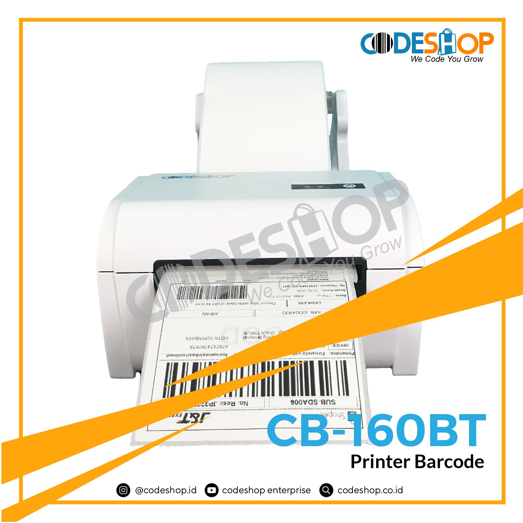 PRINTER-BARCODE-CODESHOP-CB-160BT
